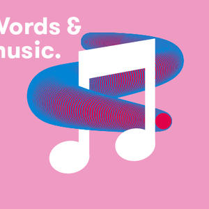 Cover image for Words and music